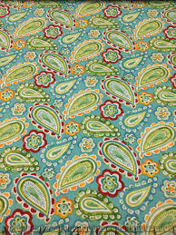 aqua yellow red green u0026 turquoise paisley fabric by the yard quilt