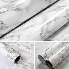 marble effect contact paper film vinyl self adhesive wallpaper