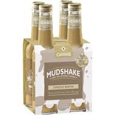 martini liquor vodka cruiser mudshake espresso martini 4x270ml woolworths