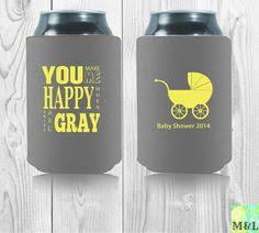 baby shower koozies personalized baby shower koozies oh baby bbq by mintandlemon