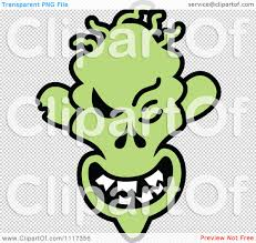 halloween clip art transparent background cartoon of a halloween zombie with a naughty grin royalty free