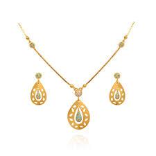 light weight jewellery blossom bluestone pear drop gold chain