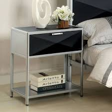 Modern Black Nightstands Modern Nightstands Cheap Saomc Co