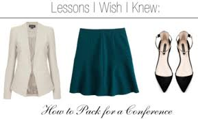 lessons i wish i knew how to dress for a conference college fashion