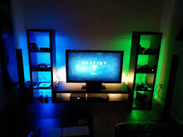 my ps4 xboxone gaming setup gaming