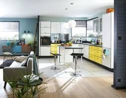 sol cuisine ouverte idee couleur cuisine ouverte ordinary salon a manger cuisine idee