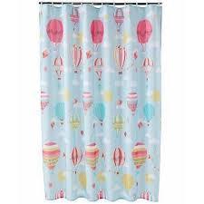 Walmart Kids Bathroom Jumping Beans In The Air Fabric Shower Curtain Air Balloon