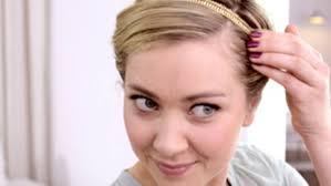Frisuren Selber Machen Haarband by Brigitte Frisuren Tutorial Eingedrehte Frisur Mit Haarband