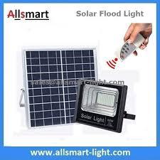 solar panel parking lot lights 60w 100led solar flood lights with remote outdoor battery led light