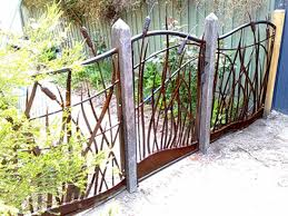 image detail for metal garden fence and gate decorative