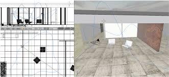 barcelona pavilion floor plan dimensions 3d curve drawings