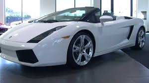lamborghini gallardo for sale toronto 2007 lamborghini gallardo spyder for sale