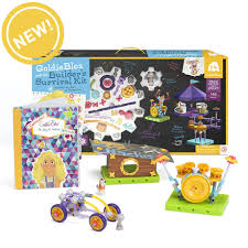 goldieblox and the builder u0027s survival kit my toy shop