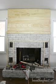 How To Reface A Fireplace by How To Build A Fireplace Surround Beneath My Heart
