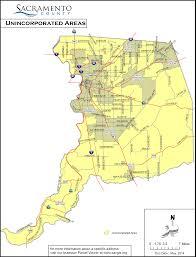 Sacramento Ca Map Sacramento County Maps