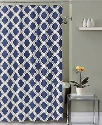 Seahawks Shower Curtain Navy Blue Taupe White Moroccan Fabric Shower Curtain Crestlake