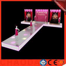 7 32x14 64m portable aluminum catwalk fashion show stage