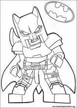 desenhos lego batman colorir victor legos