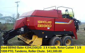 new holland bb960 baler williams farm machinery