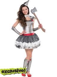Party Costumes Halloween Teen Girls Tin Heartthrob Costume Party Tin Wht