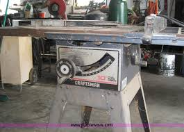 10 Craftsman Table Saw Craftsman Table Saw Item B1331 Sold July 10 Government