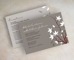 wedding invitations with rsvp cards included designs 3 in 1 wedding invitations plus 3 for 1 wedding