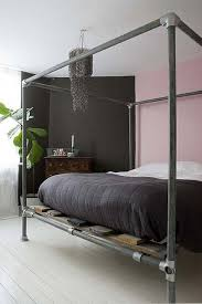 excellent best 25 industrial canopy beds ideas on pinterest rustic