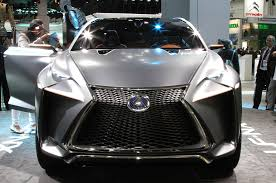 youtube lexus nx 300h lexus lf nx crossover concept is one mean looking hybrid