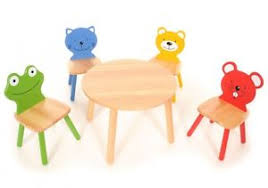 kids animal table and chairs children table animal chairs set kids playroom wood furniture