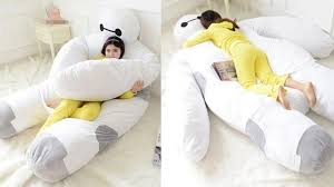 big bed pillows all you really need in life is this giant big hero 6 baymax sofa bed