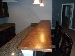 kitchen bar top ideas copper bar tops kitchen bath bar circle city copperworks