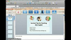 how to set powerpoint timings youtube