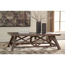 Picnic Table Dining Room Rectangular Cocktail Table With Faux Stone Table Top Insert By