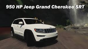 srt jeep 2014 extreme offroad silly builds 2014 jeep grand cherokee srt forza