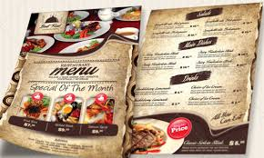 flyer menu template 19 free premium restaurant flyer templates psd desiznworld