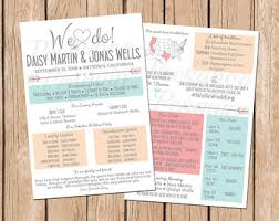 wedding programs printable infographic wedding program wedding program printable