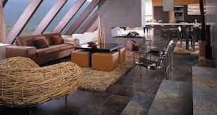 Tiled Living Room Floor Ideas Natural Stone Floor Tiles Interior Design Ideas