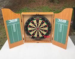 Dart Board Cabinet Plans Dart Board Cabinet Etsy