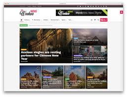 top 40 news magazine wordpress themes 2017 colorlib