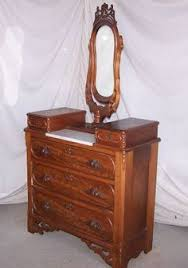 Antique Nightstands With Marble Top Antique Victorian Dressers With Mirrors Victorian Walnut Marble