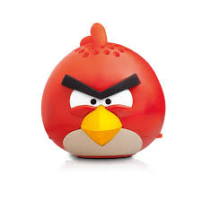 angry birds g4pg778g mini speaker red bird