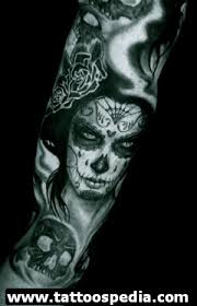 day of the dead tattoos tattoo collections