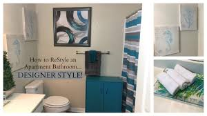 new decorating dilemma how to restyle an apartment bathroom
