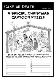 christmas cake or death christian church cartoons by alex baker