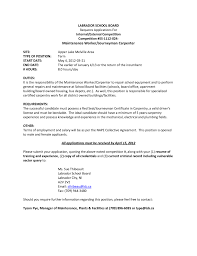 Maintenance Position Resume Carpenters Resume Kate Boyd Graphic Design The Perfect