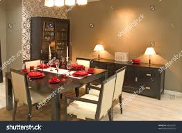 luxury dining room luxury dining room dinig table glasses stock photo 40632325