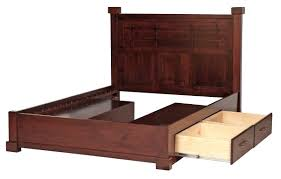 Queen Size Daybed Frame Solid Wood Bed Frame King U2013 Bare Look