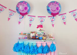peppa pig party ideas and free printables elizevent