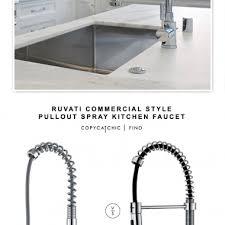 Commercial Style Kitchen Faucet Faucet Archives Copycatchic