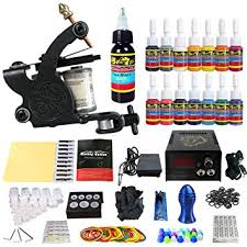 tattoo kit without machine amazon com solong tattoo complete starter tattoo kit 1 pro machine